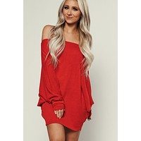 Go To Dolman Top (Red)