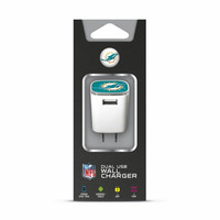 Mizco NFL Miami Dolphins Universal AC Big Logo Wall Charger