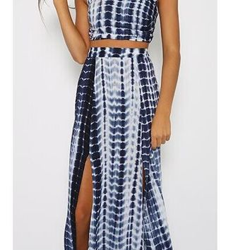 HOT FASHION TWO PIECE DRESS