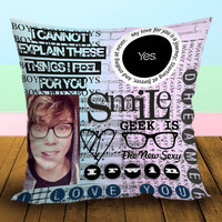 Ashton Irwin Love you 5 seconds of summer 5sos - Pillow Case, Square and Rectangle One Side/Two Side.