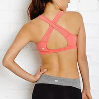 Medium Impact - Mesh Trimmed Sports Bra