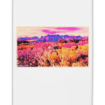 "Colorful Colorado Mountains Fridge Magnet 2""x3 by TooLoud"