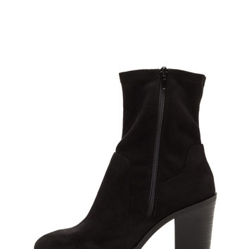 Save The Day Faux Suede Chunky Booties GoJane.com