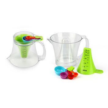 Reversible Measuring Cup and Spoon Set | Kitchen Gadgets