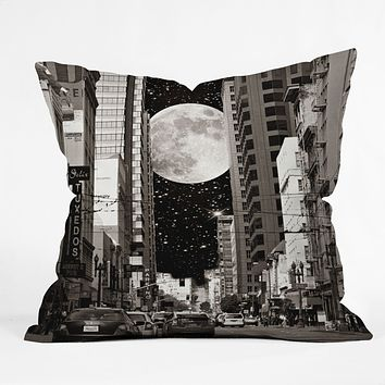 Shannon Clark Night On The Town Throw Pillow