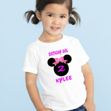 Minnie Mouse Birthday T-Shirt