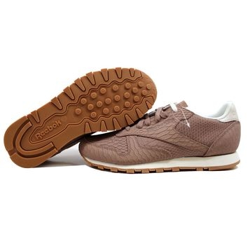 Reebok Classic Leather Clean Exotics Taupe/Chalk V68797