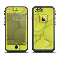 The Tennis Ball Overlay Apple iPhone 6/6s LifeProof Fre Case Skin Set