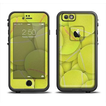The Tennis Ball Overlay Apple iPhone 6 LifeProof Fre Case Skin Set