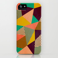 Geometric Love II iPhone & iPod Case by Louise Machado