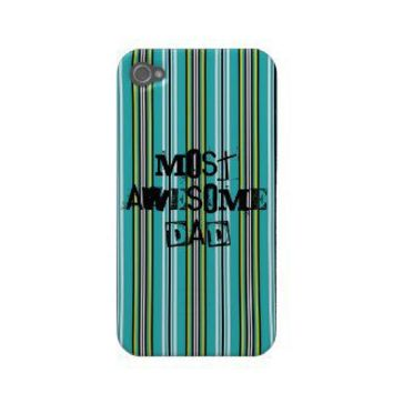 Most Awesome Dad Iphone 4/4S Case Case-mate Iphone 4 Case from Zazzle.com