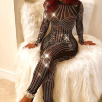 Finesse Embellished Catsuit