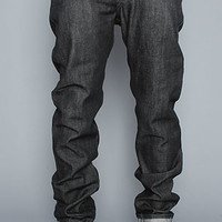 Naked & Famous The Core Weird Guy Jeans in Black Selvedge
