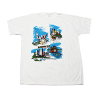 Vintage 1989 Toronto Canada Tourist Tee Mens Size Large (Slim Fit)