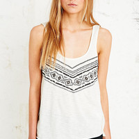 Staring at Stars Mitered Lace Tank - Urban Outfitters