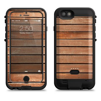 The Worn Wooden Panks  iPhone 6/6s Plus LifeProof Fre POWER Case Skin Kit
