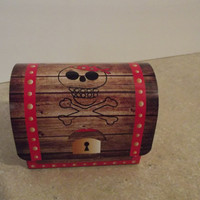 Treasure Chest Party Favor Boxes Set of 8 by armywife711 on Etsy