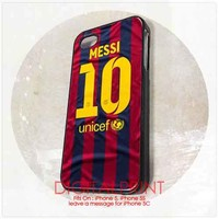 LIONEL MESSI For iPhone 5, 5S Case - Note For 5C