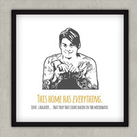 SNL Stefon gallery wall print digital file