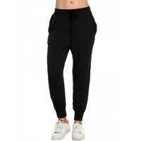 New Fashion Women Casual Drawstring Loose Soft Jogger Pants Sportwear
