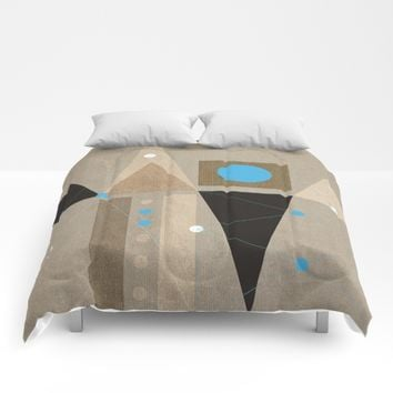 Geometric/Abstract 7 Comforters by ViviGonzalezArt