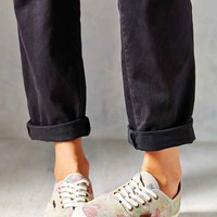 Vans Authentic Slim Suede Floral Low-Top Women's