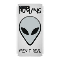 humans aren't real iPhone 7 Plus Case