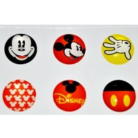 Mickey Mouse Home Button Sticker for Iphone 4g/4s Ipad2 Ipod