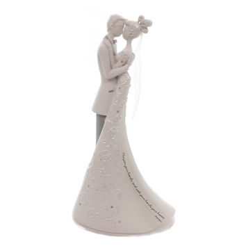 Wedding FIRST DANCE CAKE TOPPER Polyresin Gina Freehill Collection 63455