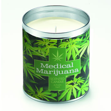 Medical Marijuana Candle