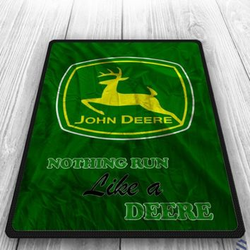 John Deere Custom Grass Blanket Cheap