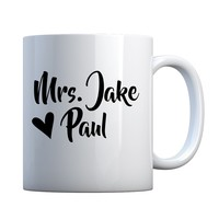 Mug Mrs Jake Paul Ceramic Gift Mug
