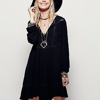 Free People Womens Sweet Treat Mini Shirtdress