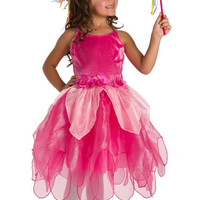 Little Adventures 13122 Pink Deluxe Tulip Fairy Dress ages 3-5 with Hair Bow