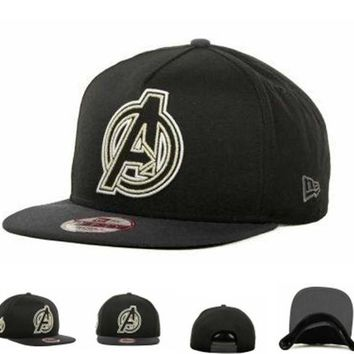 DCCKUN7 Avengers Hero Neon Sign 3 A-frame 9fifty Caps Cap Snapback Hat - Ready Stock