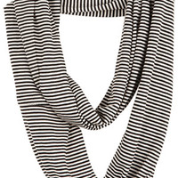 Mini Stripe Infinity Scarf
