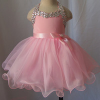 Infant/toddler/baby/children/kids glitz Girl's Pageant Dress/clothing  for birthday,christmas,bridal,gift, 1~4T G079-2