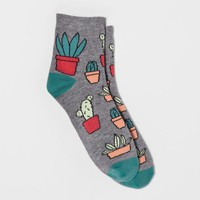 Women's Socks - Xhilaration™ Heather Gray One Size