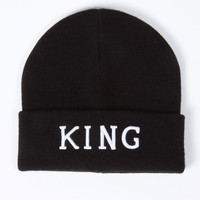 King Apparel - Staple Beanie - Black