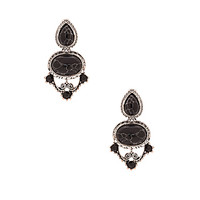 The Liz Taylor Drop Earring in Silver
