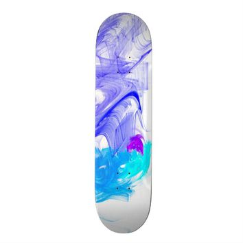 Fractal Art 19,1 Cm Old School Skateboard Deck