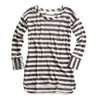 Women's TEES & TANKS - tees - Juniper Stripe Tee - Madewell
