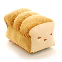 "Bread 15"" Plush Pillow Sitting Cushion Room Home Anime Decor Cute Doll Gift Kid"