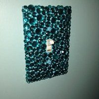 Bedazzled Light Switch Cover