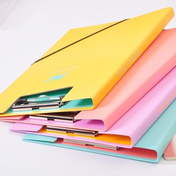 32 x 22cm Clip Board Paper Clips Clipboards A4 Office Supplies Cute Animal School Kawaii Stationery