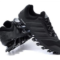 Adidas: men and women running shoes blade suspension spring movement