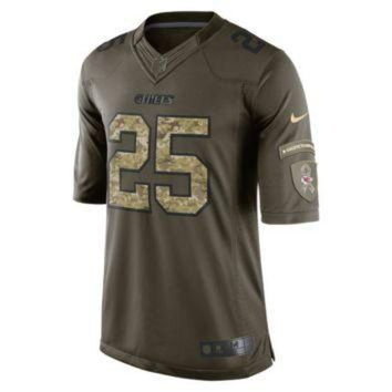 PEAPYD9 Nike NFL Kansas City Chiefs Salute to Service (Jamaal Charles) Men's Football Limited