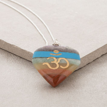Beloved Om Chakra Necklace