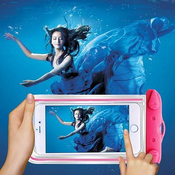 Waterproof Bag Pouch Cases for LG Stylus 2 G Stylo 2 LS775 K520 Underwater Diving For  K4 Lte K120e K130e K121 K5 X220 Q6 Phone