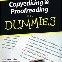 Copyediting & Proofreading for Dummies For Dummies